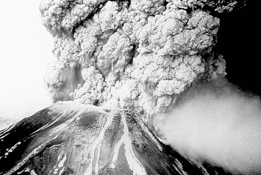 mt st helens eruption - CDC
