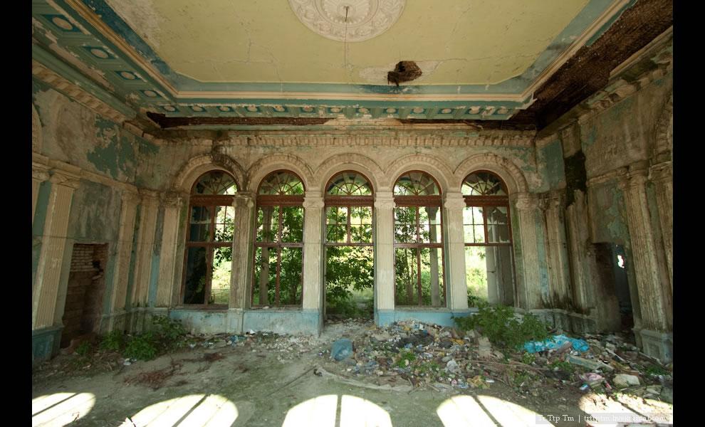 Inside Abkhazia, Gagra railroad station