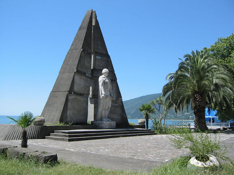 Resort to ruins - Gagra is a city in the Abkhazia