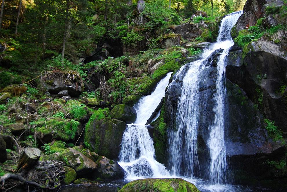 Schwarzwald waterfall