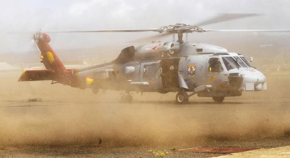 U.S. Navy Sikorsky SH-60B Seahawk helicopter