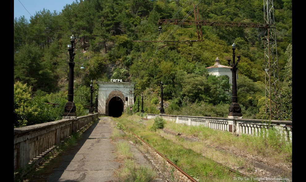 abandoned railway station Abaata
