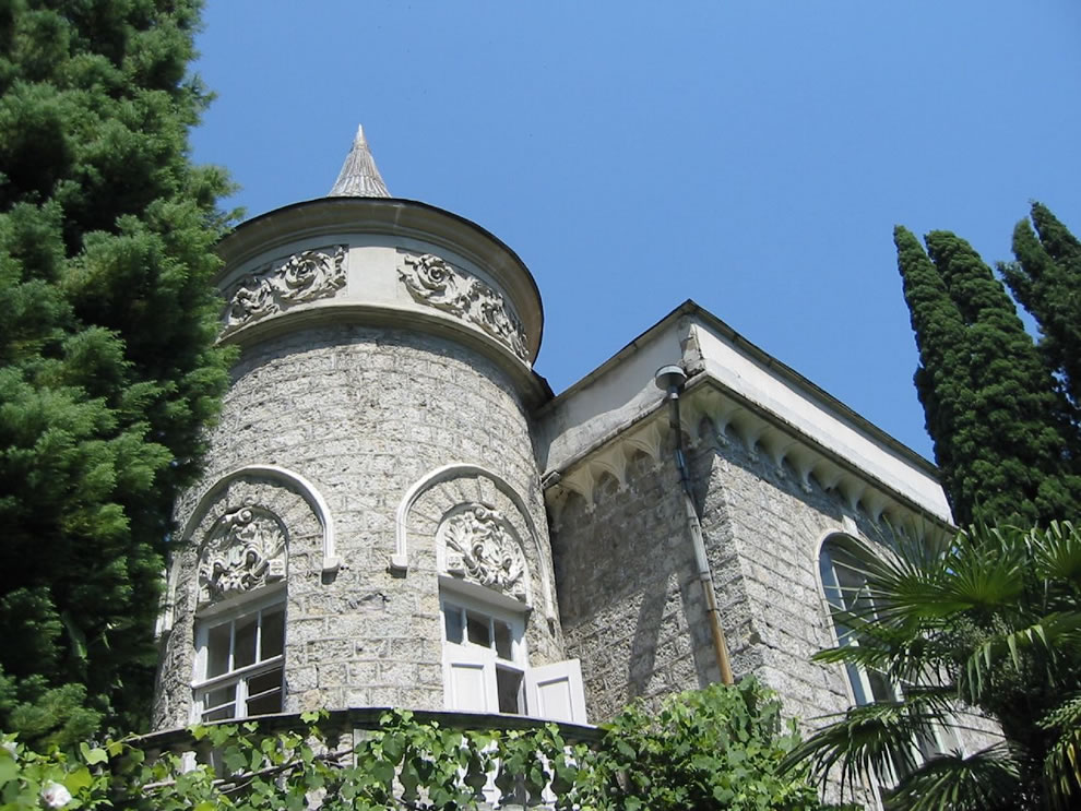 architectural beauty of old gagra