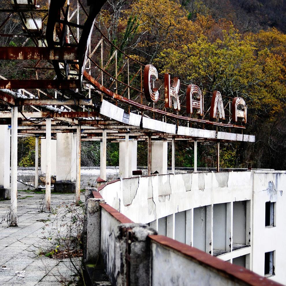 resort to ruins gagra - russia