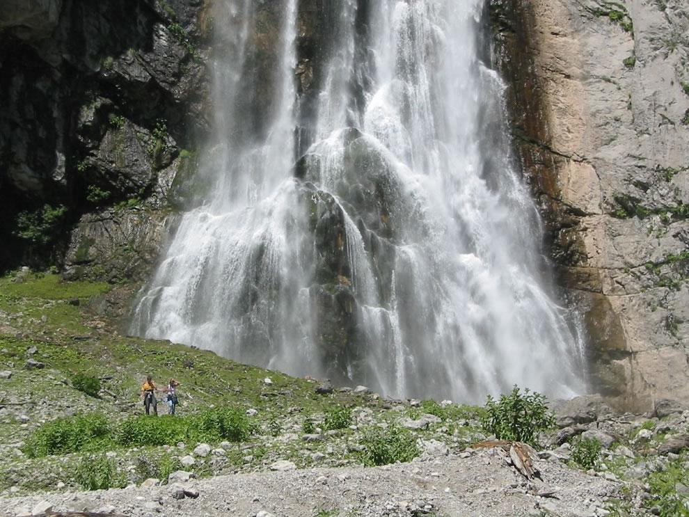 Gegsky waterfall in Gagra