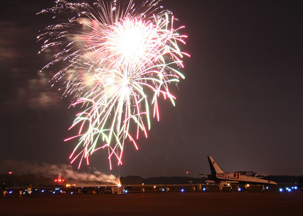 Virginia Beach, Va, Fireworks - Naval Air Station Oceana Air Show