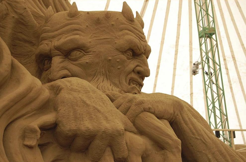 sand demon  aka satan from dante's hell