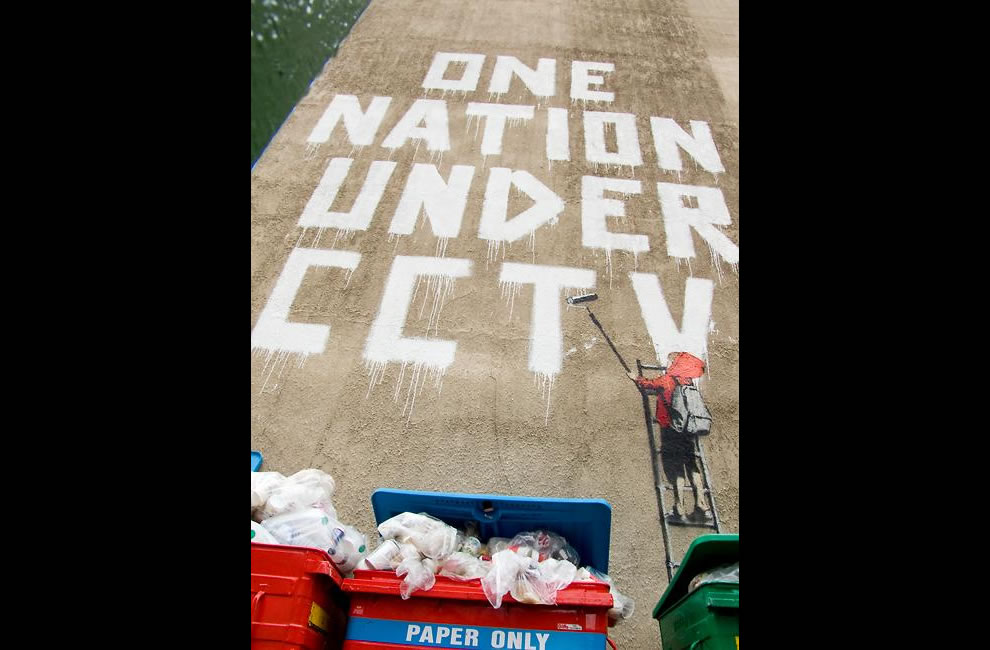 1 Nation under CCTV Banksy