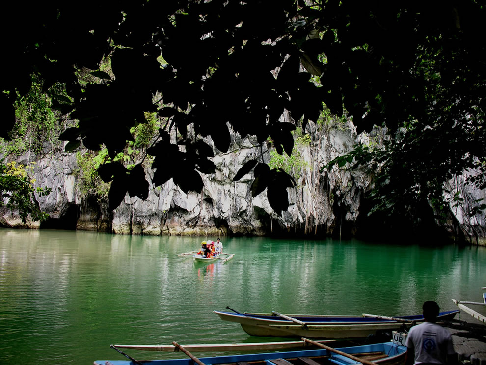 After a 2-hr walk in the Monkey Trail, we reached The World's Longest Underground River