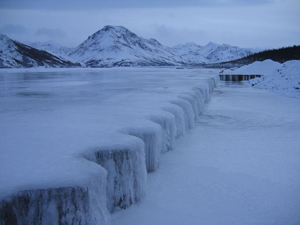 Brrr frozen everything at Denali