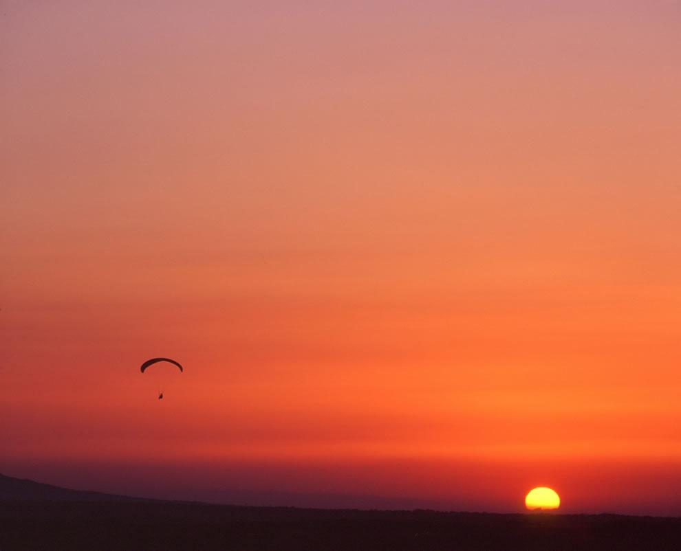 Crimea, Paragliding