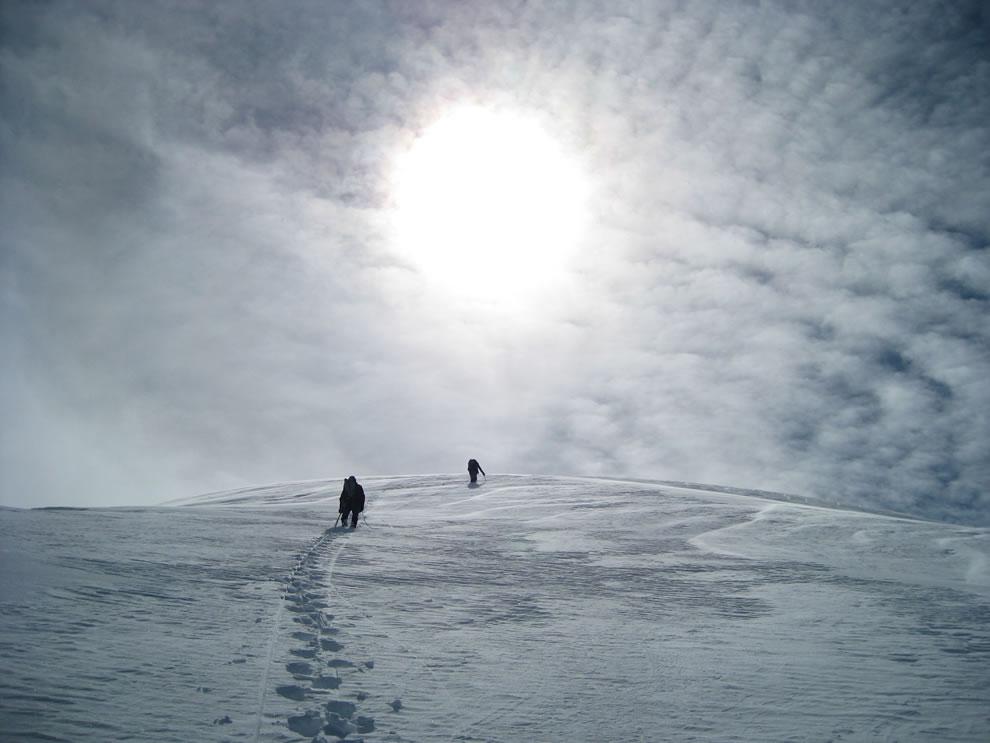 Going up at Denali National Park