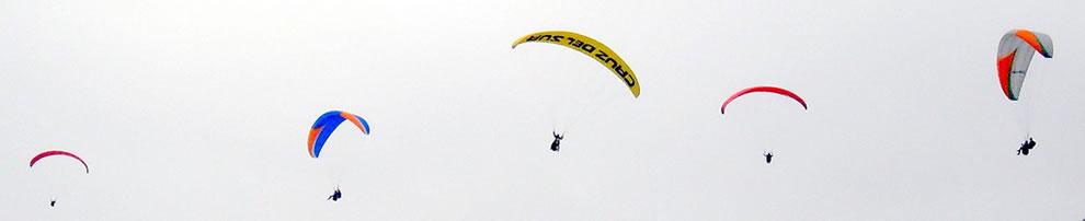 Paragliding Lima Peru
