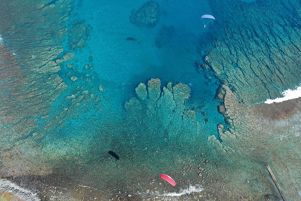 Reunion Island - Paragliding