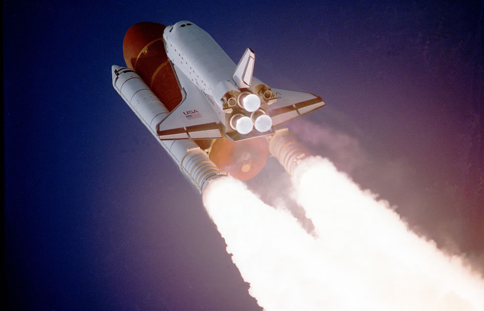 STS-27, Orbiter Atlantis, Liftoff