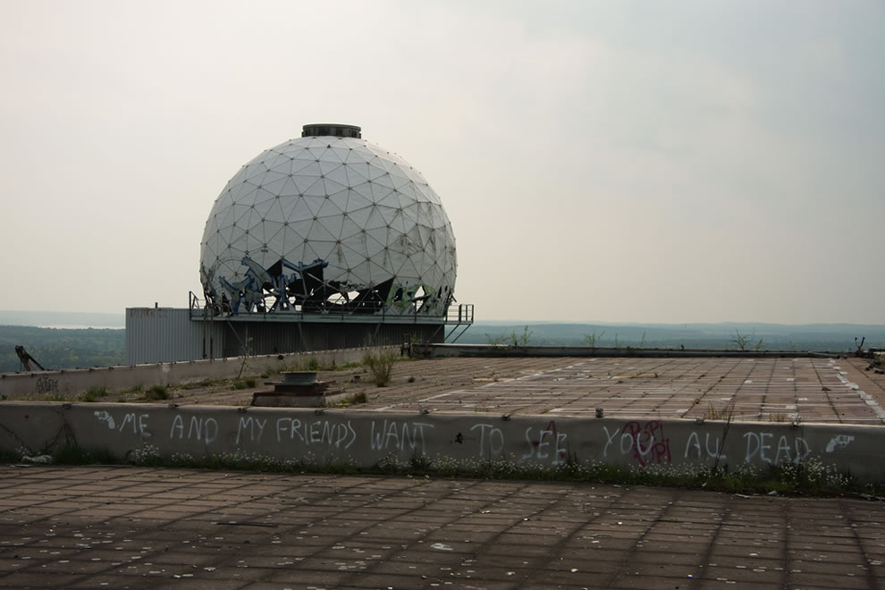 The Arctic Tower abandoned NSA Teufelsberg Radar Station