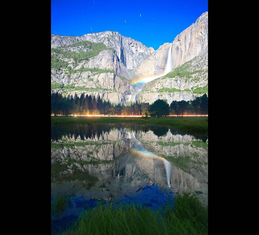 The Yosemite Falls Moonbow