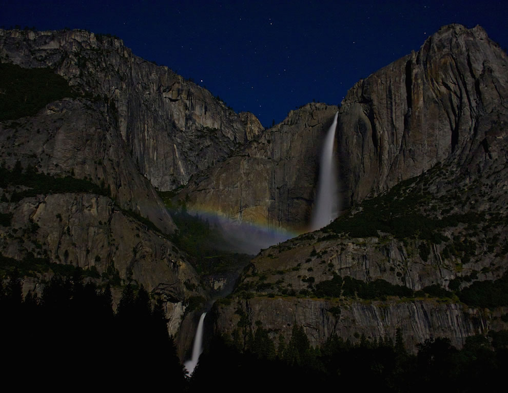 Upper Yosemite Falls Moonbow