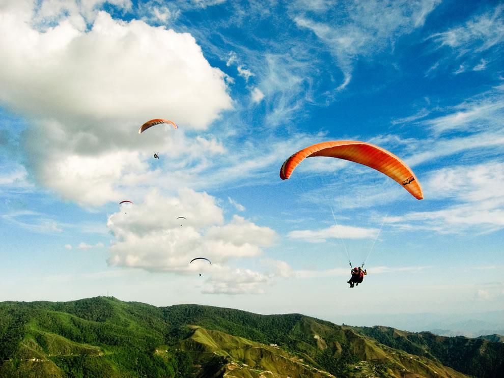 Venezuela paragliding