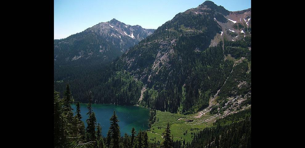 Alpine Lakes Wilderness Deep Lake