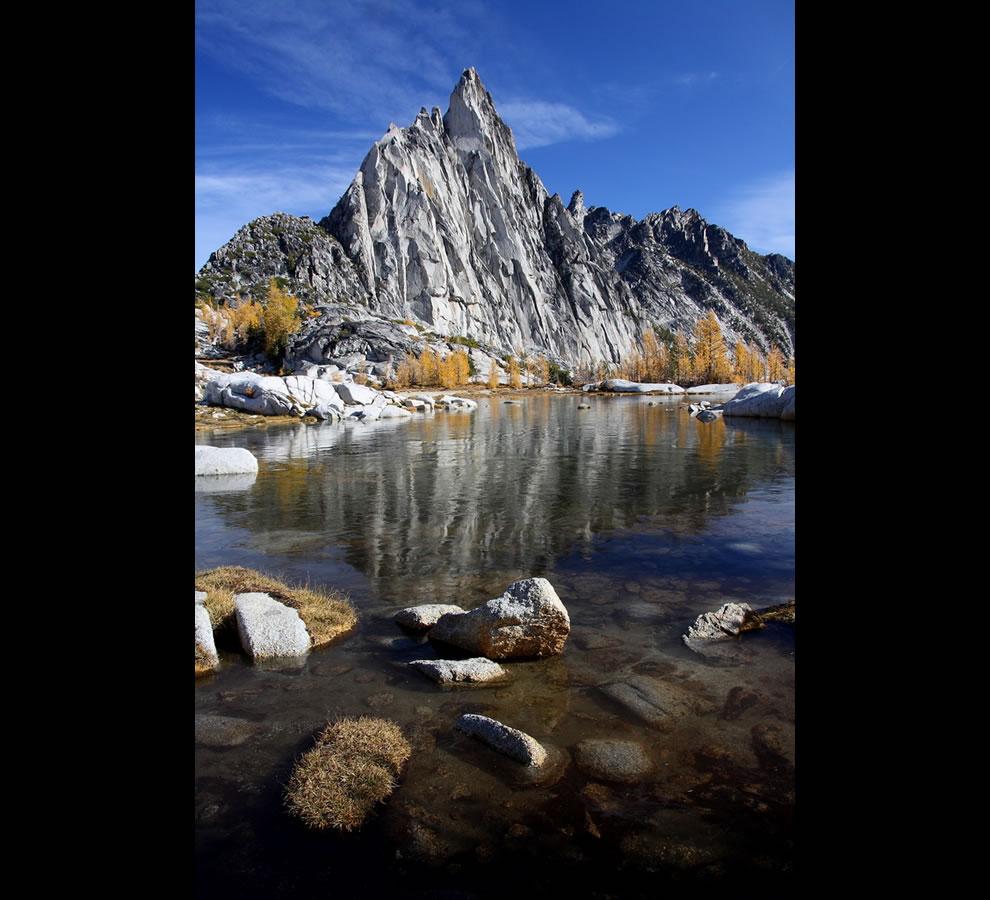 Gnome Tarn Enchantments - Gnome tarn on ice