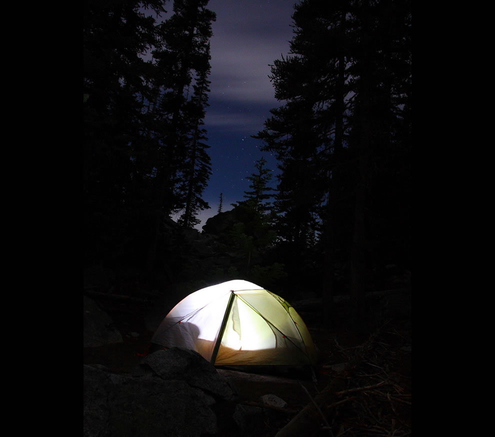 Just before dawn Enchantment Lake trip