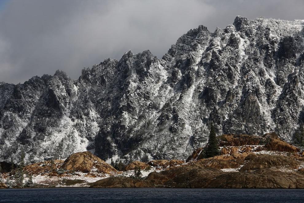 Stuart West Ridge Ingalls Lake and South Ingalls Peak