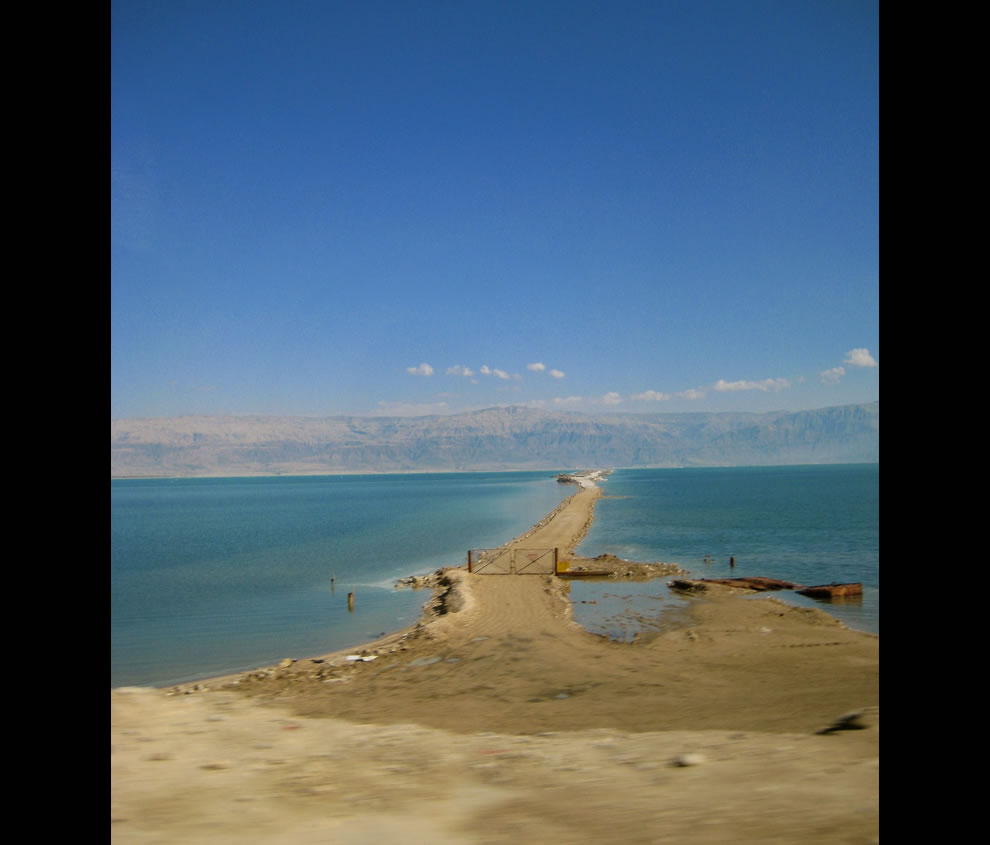 Dead Sea land bridge