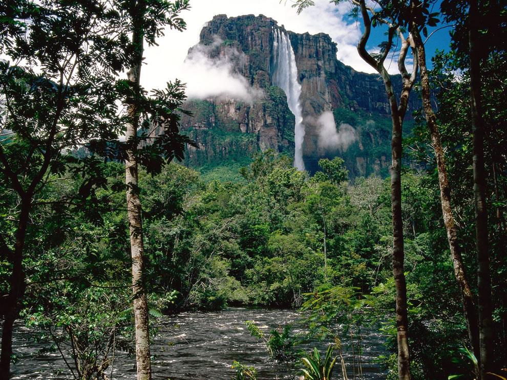 Highest Waterfall in the world Angel Falls, Venezuela