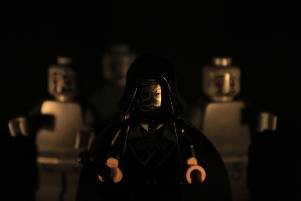 LEGO The Death Eater & His Inferi