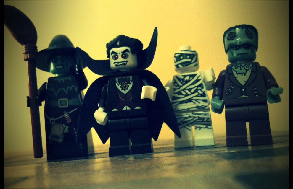 Lego Hollywood monsters