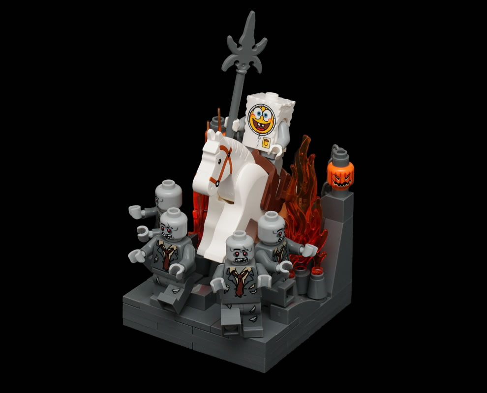 The Fifth Rider (Spooky Light) - entry for the Dem Bones Haunted Halloween Contest