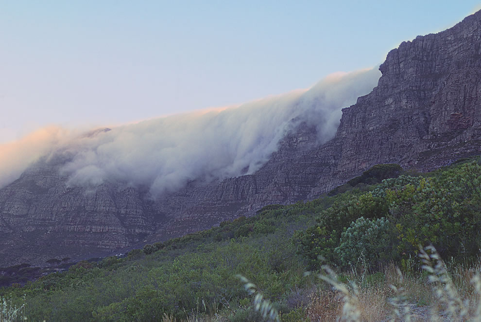 Cape Town, Table Mountain, Table Cloth