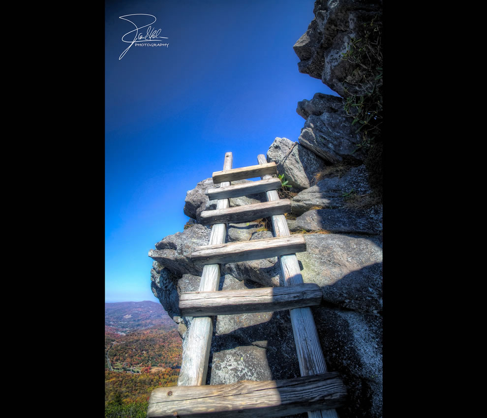 Climbing Grandfather Mountain