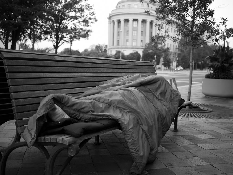 Homeless and sleeping in D.C