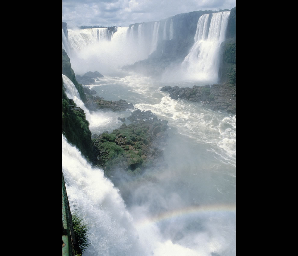 Iguazu Falls, in the province Misiones, in Argentina