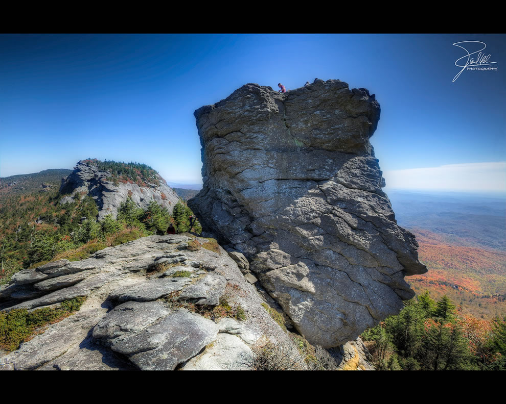 Mac Rae Peak (1782m), Grandfather Mountain, North Carolina