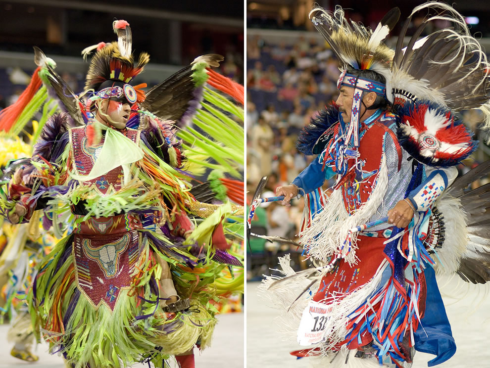 National Pow Wow Fancy Dancers