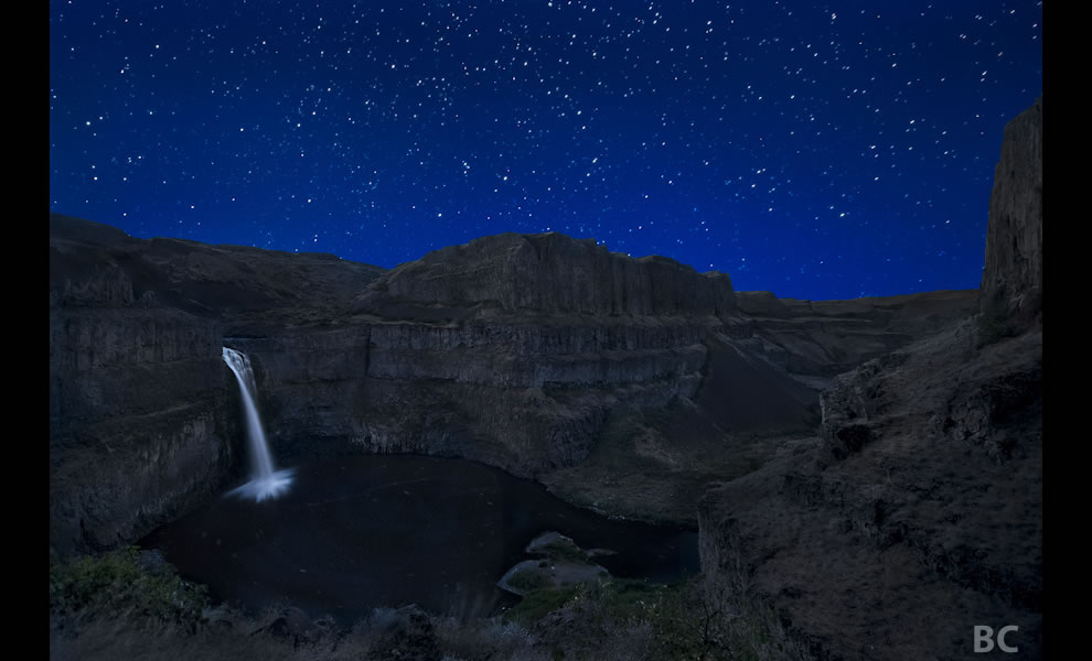 Palouse Falls Night
