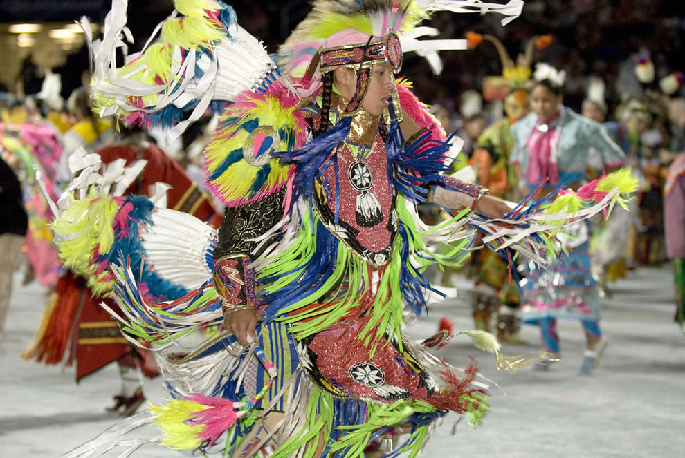 National Powwows are large social gatherings of Native Americans