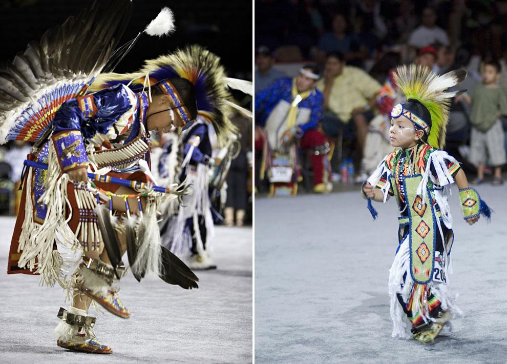 Adorable boys at National PowWow