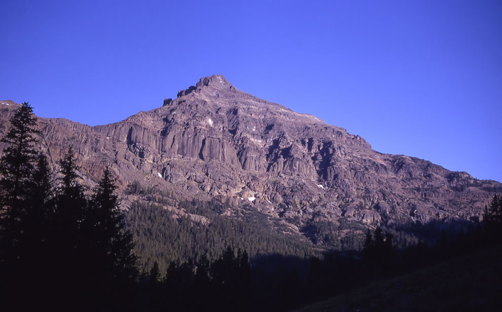 Eagle Peak -- Yellowstone National Park