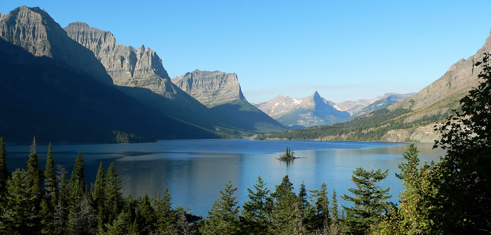 Glacier National Park -- St Mary Lake