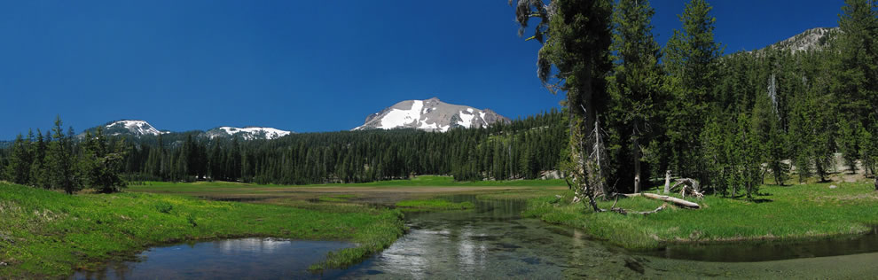 Lassen Peak at Lassen Volcanic National Park
