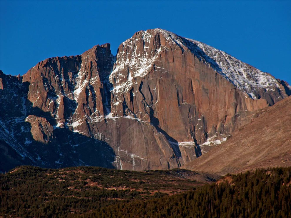 Longs Peak -- Rocky Mountain National Park