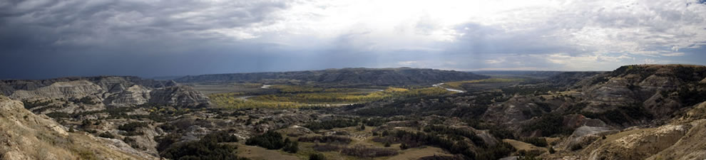 Panorama Theodore Roosevelt National Park