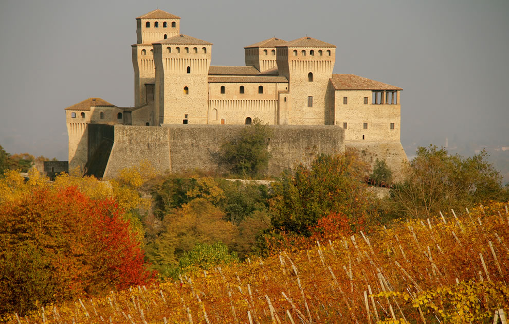 Castle of Torrechiara, Italy