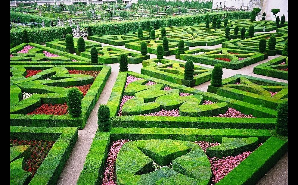 Château de Villandry Gardens Loire Valley
