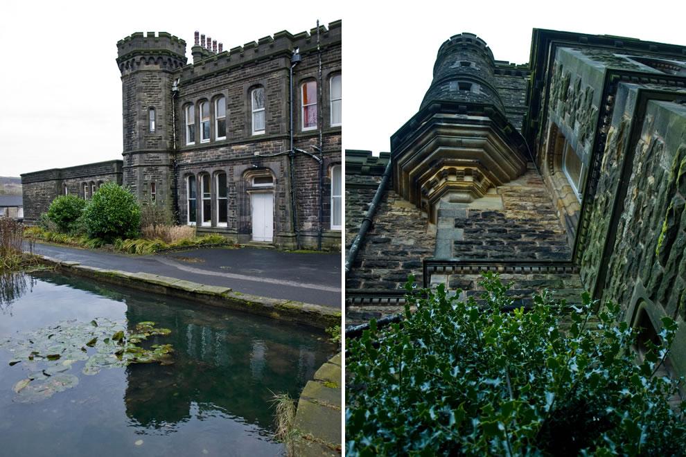 Dobroyd castle in Todmorden, West Yorkshire, England