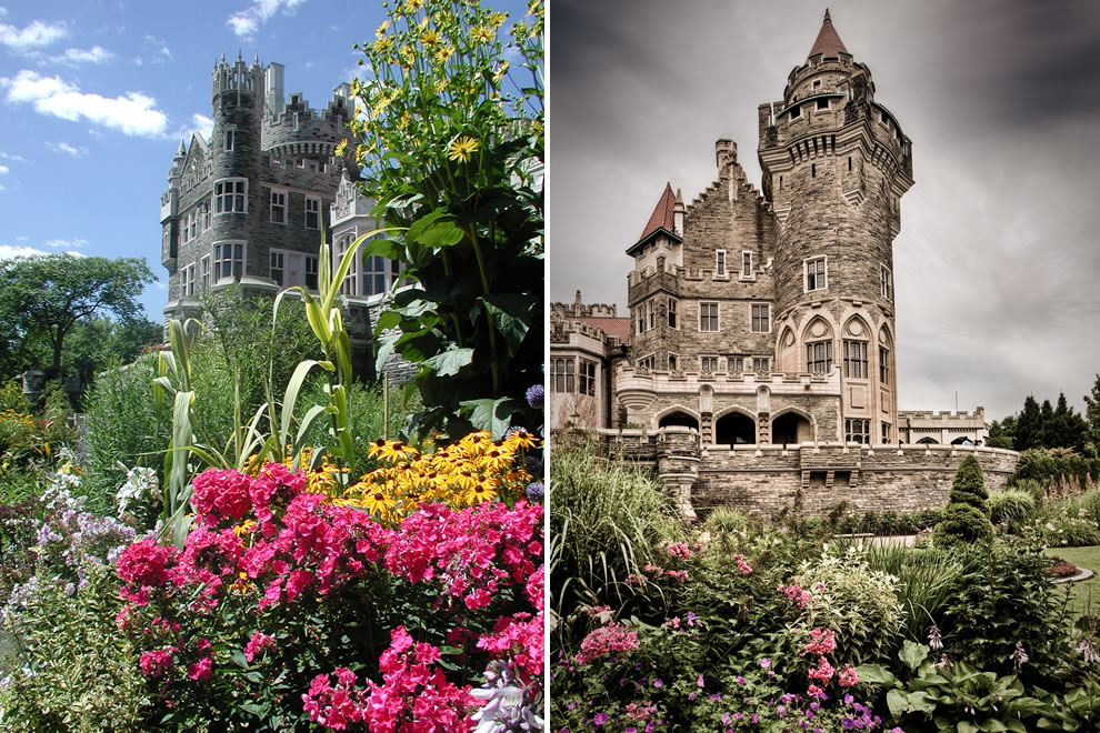 Gardens of Casa Loma in Canada a castle built for love